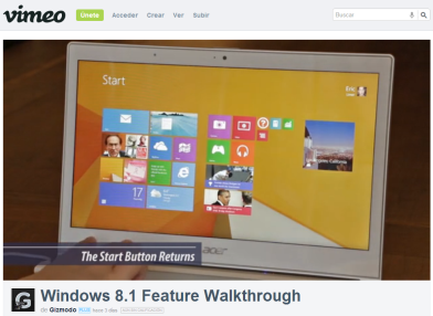 Video: Nuevas características de Windows 8.1