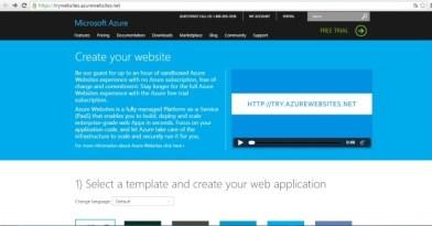 Probar sitios web en Azure, gratis y sin requisitos