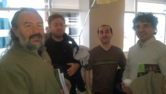 Linea de 4: Meschini, Blackman, Tuttini y Alvarez
