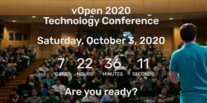 vOpen 2020 - Sábado 3 de octubre