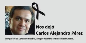 Nos dejó Carlos Alejandro Pérez
